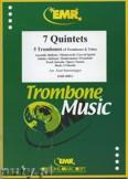 Ok�adka: Sturzenegger Kurt, 7 Quintette (Renaissance-Barock) - Trombone