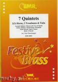 Okładka: Różni, 7 Quintette pour 2 (3) cornes, 2 trombones et bombardon
