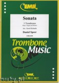 Okładka: Speer Daniel, Sonata - Trombone