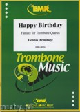 Okładka: Armitage Dennis, Happy Birthday - Trombone