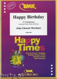 Okładka: Mortimer John Glenesk, Happy Birthday - Trombone