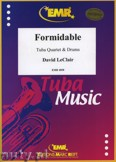 Ok�adka: Leclair David, Formidable for Tuba Quartet and Drums