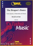 Okładka: Leclair David, The Dragon's Dance for Tuba Quartet, 4 Marimbas and Drums