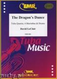 Ok�adka: Leclair David, The Dragon's Dance for Tuba Quartet, 4 Marimbas and Drums