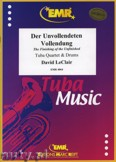 Ok�adka: Leclair David, Der Unvollendeten Vollendung f�r Tuba Quartett und Schlagzeug
