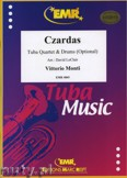 Ok�adka: Monti Vittorio, Czardas for Tuba Quartet and Drums (Optional)