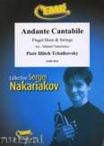 Okładka: Czajkowski Piotr, Andante Cantabile (Flugel Horn Solo) - Orchestra & Strings