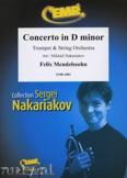 Okładka: Mendelssohn-Bartholdy Feliks, Concerto in D minor (Trumpet Solo) - Orchestra & Strings