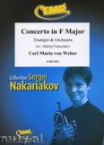 Okładka: Weber Carl Maria Von, Concerto in F Major (Trumpet Solo) - Orchestra & Strings