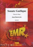 Okładka: Daetwyler Jean, Sonate Gaélique for Flute and Harp