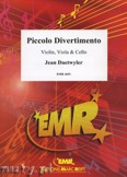 Okładka: Daetwyler Jean, Piccolo Divertimento for Violin, Viola and Cello