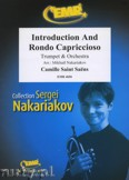 Ok�adka: Saint-Sa�ns Camille, Introduction and Rondo (Solo Trumpet) - Orchestra & Strings