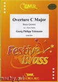 Ok�adka: Telemann Georg Philipp, Ouvert�re C-Dur - BRASS ENSAMBLE