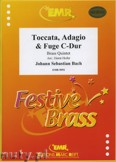 Okładka: Bach Johann Sebastian, Toccata, Adagio & Fuge C-Dur - BRASS ENSAMBLE
