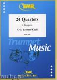 Ok�adka: Cecil Leonard, 24 Quartette - Trumpet