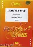 Ok�adka: Prischl Johannes, Suite and Sour - BRASS ENSAMBLE