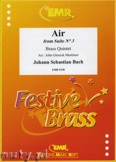 Ok�adka: Bach Johann Sebastian, Air from Suite N� 3 - BRASS ENSAMBLE