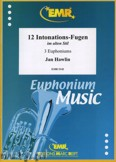 Ok�adka: Hawlin Jan, 12 Intonations-Fugen im alten Stil - Euphonium