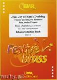 Ok�adka: Bach Johann Sebastian, Jesu, Joy of Man's Desiring - BRASS ENSAMBLE