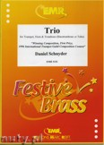 Okładka: Schnyder Daniel, Trio - BRASS ENSAMBLE
