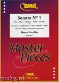 Okładka: Uccellini Marco, Sonata N° 1 - BRASS ENSAMBLE