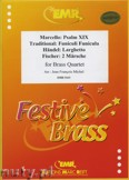 Okładka: Michel Jean-François, Quartett Album (Psalm XIX, Larghetto, 2 Märsche, Funiculi Funicula) - BRASS ENSAMBLE