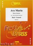 Okładka: Bach Johann Sebastian, Gounod Charles, Ave Maria - BRASS ENSAMBLE