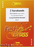 Ok�adka: H�ndel George Friedrich, Two Sarabands - BRASS ENSAMBLE