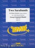 Okładka: Händel George Friedrich, Two Sarabands - BRASS ENSAMBLE