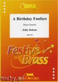 Okładka: Debons Eddy, A Birthday Fanfare - BRASS ENSAMBLE