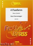 Okładka: Sturzenegger Kurt, 4 Fanfares - BRASS ENSAMBLE