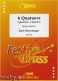Ok�adka: Sturzenegger Kurt, 6 Quatuors - BRASS ENSAMBLE