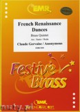 Okładka: Gervaise Claude, French Renaissance Dances - BRASS ENSAMBLE