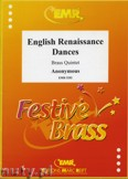 Ok�adka: Anonim, English Renaissance Dances - BRASS ENSAMBLE