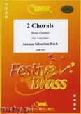 Ok�adka: Bach Johann Sebastian, 2 Chorale - BRASS ENSAMBLE