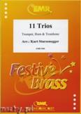 Okładka: Sturzenegger Kurt, 11 Trios - BRASS ENSAMBLE