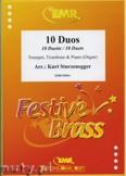 Okładka: Sturzenegger Kurt, 10 Duos - BRASS ENSAMBLE
