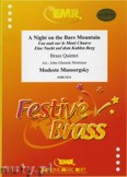 Ok�adka: Musorgski Modest, A Night on the Bare Mountain - BRASS ENSAMBLE