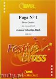 Ok�adka: Bach Johann Sebastian, Fuga N� 01 - BRASS ENSAMBLE