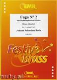 Okładka: Bach Johann Sebastian, Fuga N° 02 - BRASS ENSAMBLE