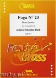 Okładka: Bach Johann Sebastian, Fuga N° 23 - BRASS ENSAMBLE