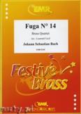 Ok�adka: Bach Johann Sebastian, Fuga N� 14 - BRASS ENSAMBLE