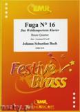 Ok�adka: Bach Johann Sebastian, Fuga N� 16 - BRASS ENSAMBLE