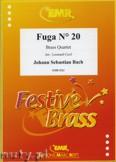 Ok�adka: Bach Johann Sebastian, Fuga N� 20 - BRASS ENSAMBLE