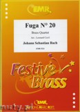 Okładka: Bach Johann Sebastian, Fuga N° 20 - BRASS ENSAMBLE