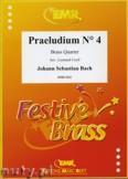 Ok�adka: Bach Johann Sebastian, Praeludium N� 4 - BRASS ENSAMBLE