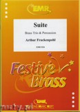 Ok�adka: Frackenpohl Arthur, Suite for Brass Trio and Percussion