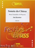 Ok�adka: Koetsier Jan, Sonata da Chiesa Op. 146 for Brass Ensemble (10 Players)