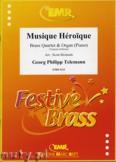 Okładka: Telemann Georg Philipp, Musique Héroique - BRASS ENSAMBLE