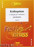 Ok�adka: Koetsier Jan, Kolloquium for 4 Trumpets and 4 Trombones